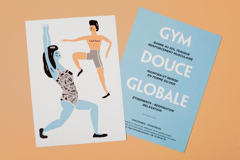 flyer gym douce globale lisa laubreaux. Black Bedroom Furniture Sets. Home Design Ideas