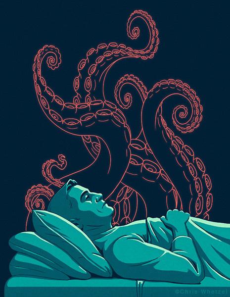 bad sleep cover art chris whetzel illustration