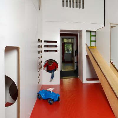 kinderwirtschaft store design neulant van exel. Black Bedroom Furniture Sets. Home Design Ideas