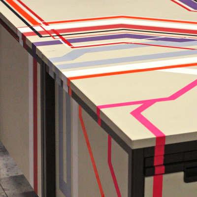 dezeen qubique lounge neulant van exel. Black Bedroom Furniture Sets. Home Design Ideas