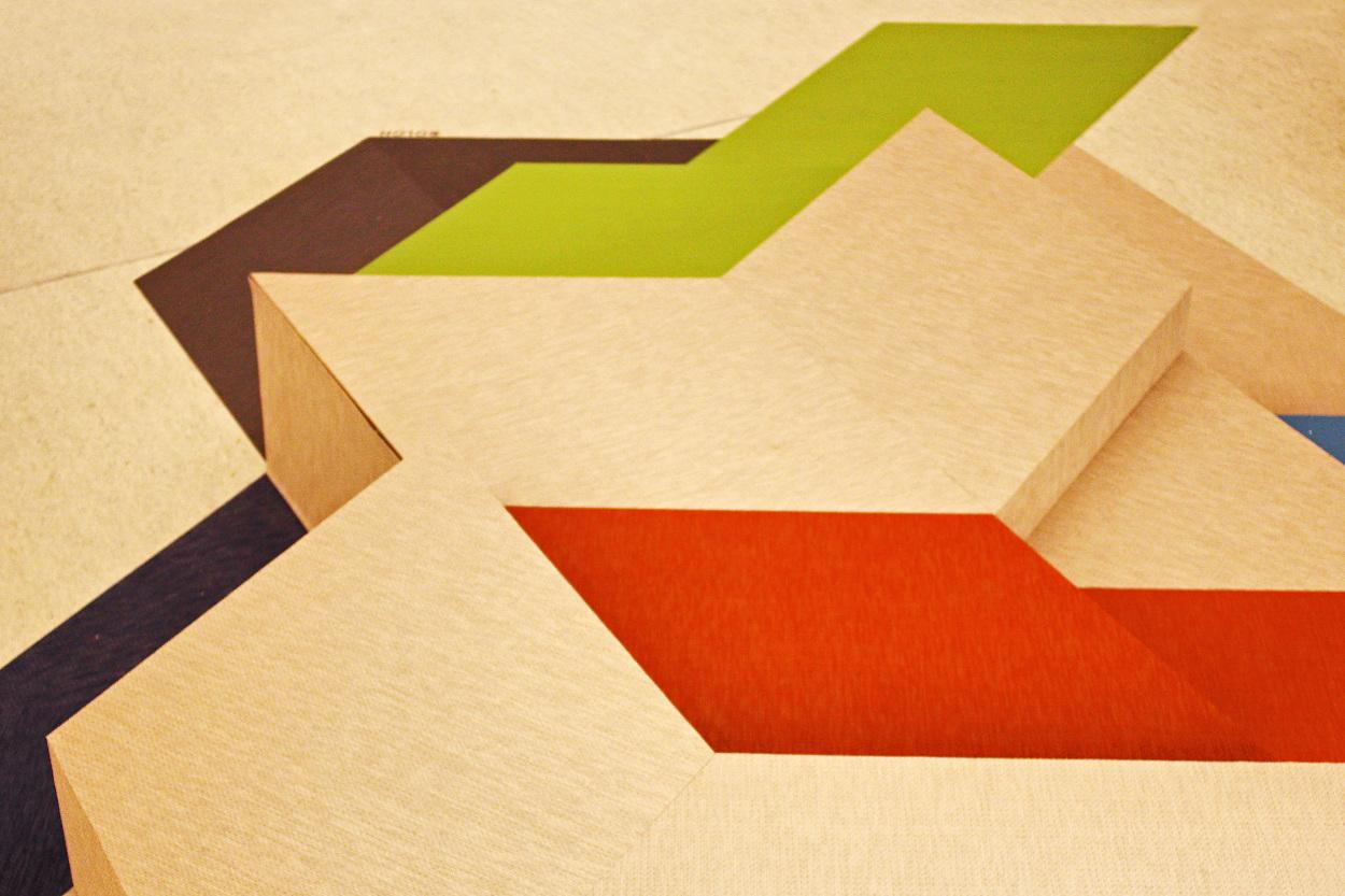 Bolon sculpture neulant van exel for Couch 4m breit
