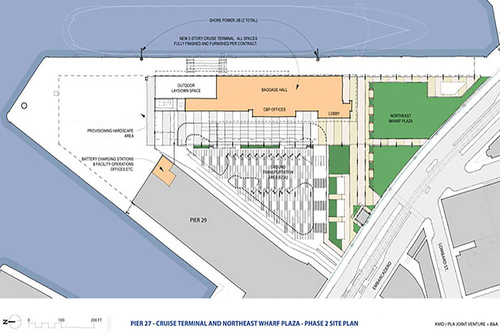 Pier 27 San Francisco Map.Pier 27 Adbc Architecture