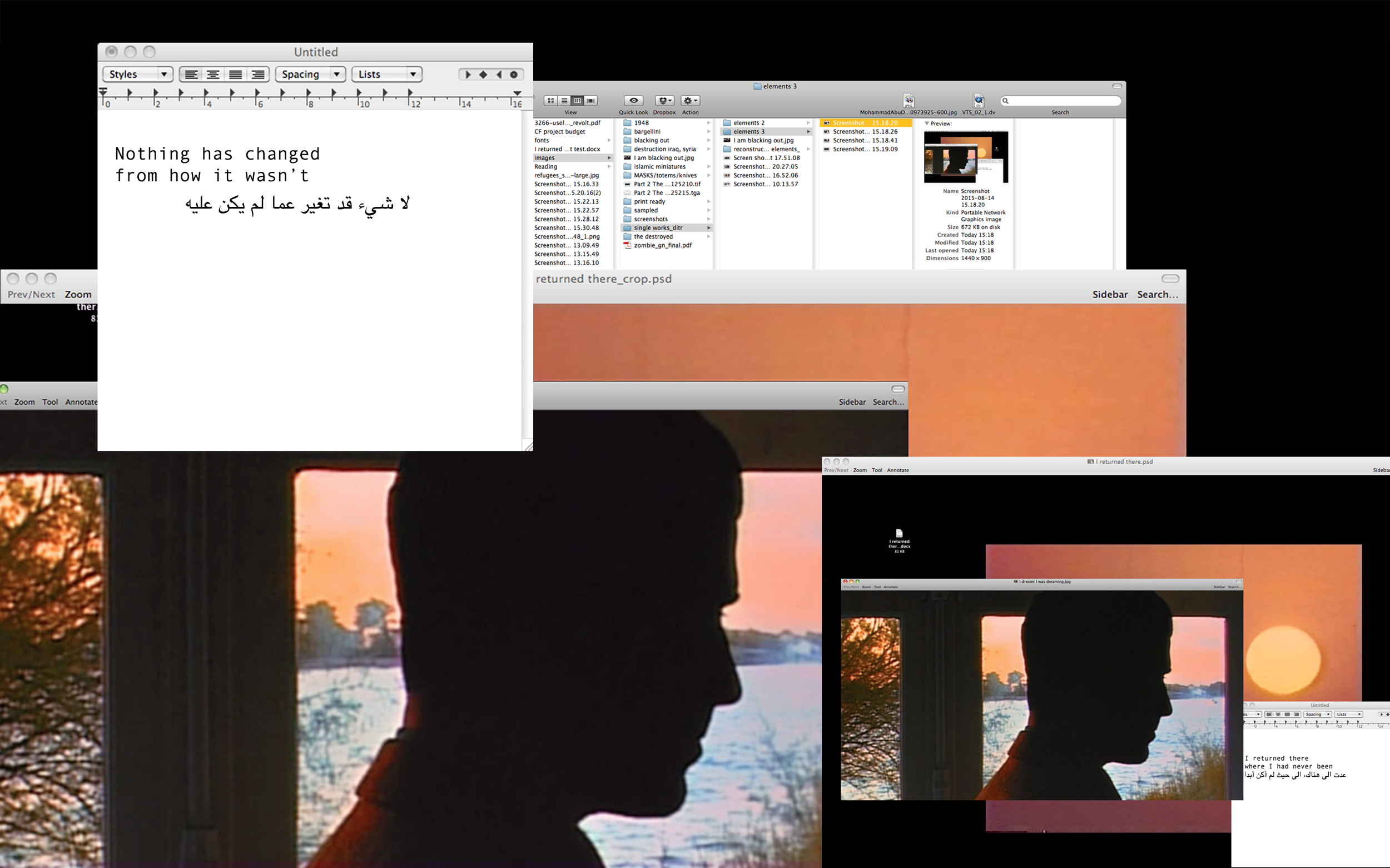 90149fa0ce2 Screenshots (2014-ongoing) - Basel Abbas and Ruanne Abou-Rahme