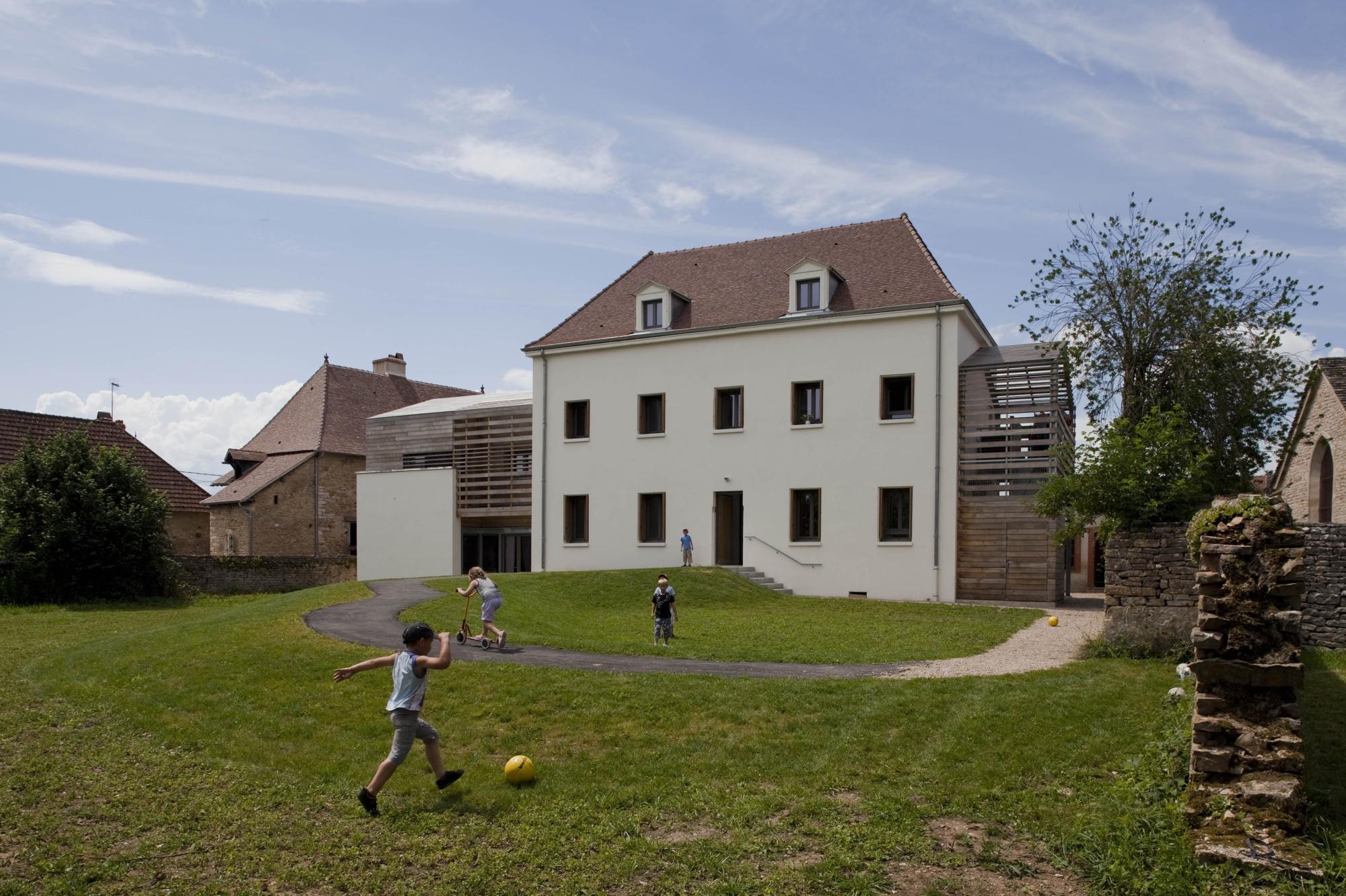 Micro Crèche Logements Agence Yarchitectes