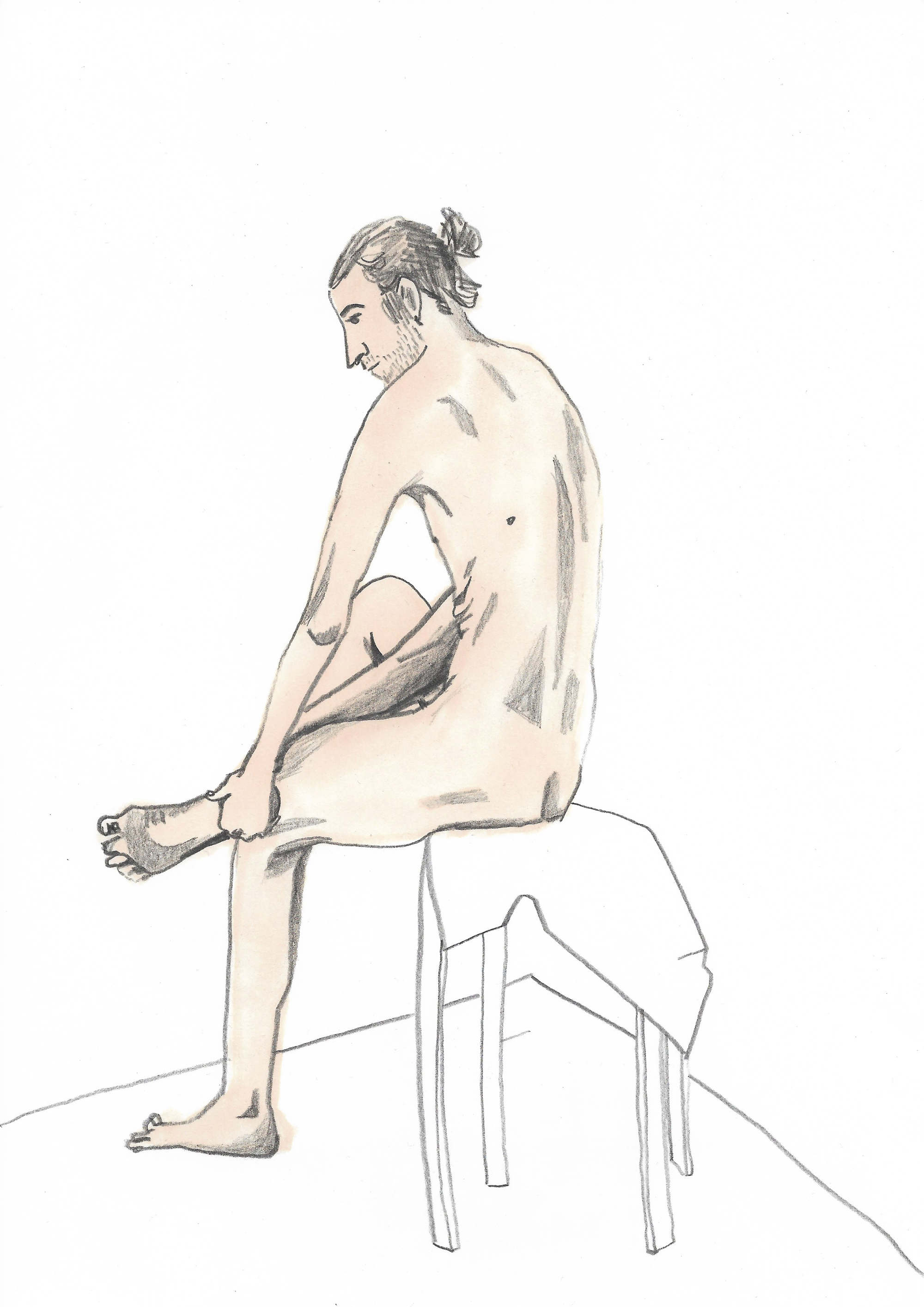 Life Drawing Anya Milovanova