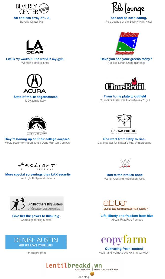 Branding Taglines - Adair Seldon