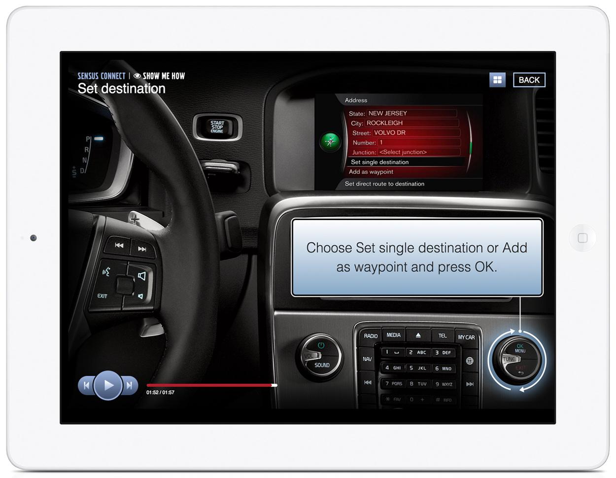 Volvo Sensus Päivitys