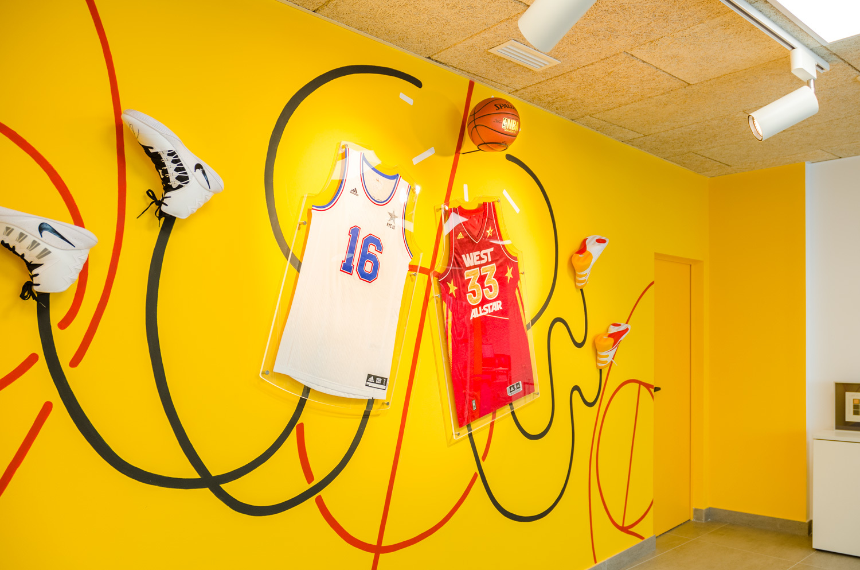 lowest price ae1a7 08643 All Stars NBA installation - Iván Bravo