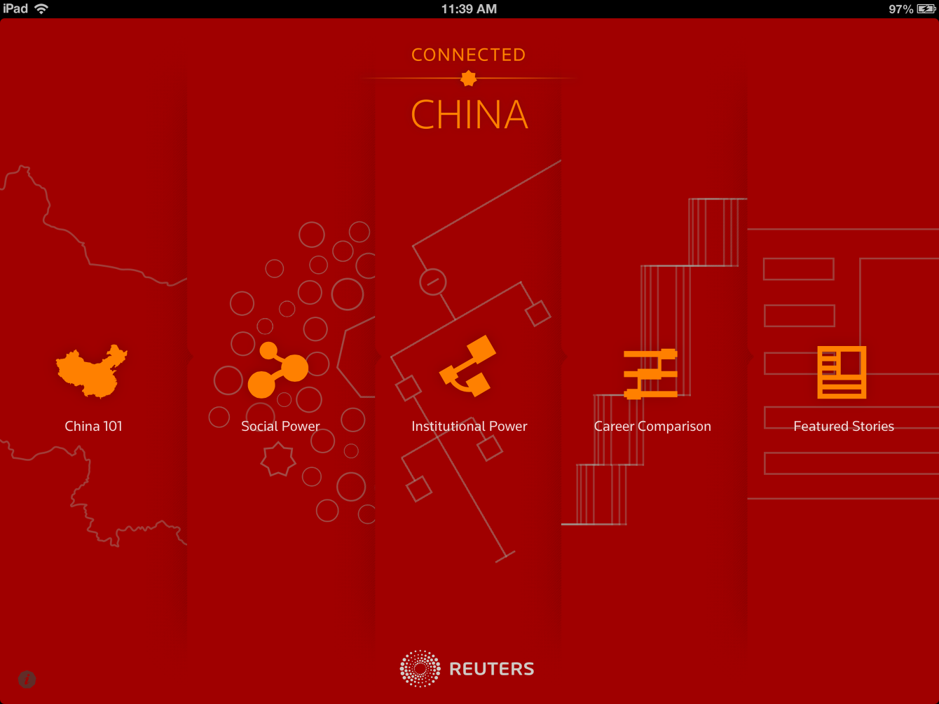 Connected China A website for Thomson Reuters that