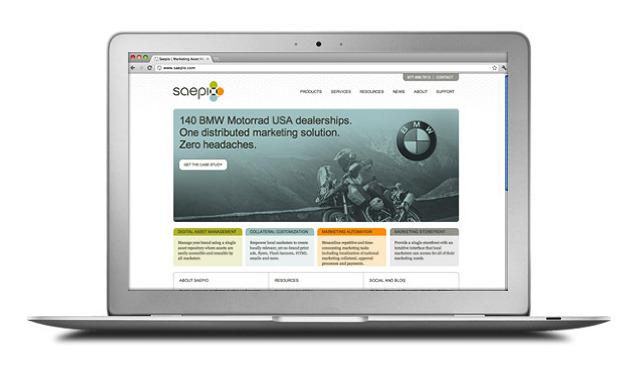 Saepio Technologies Branding - ADAM ELWELL   CREATIVE