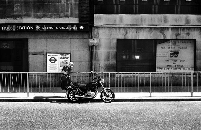 Johnston Underground, London May 1985