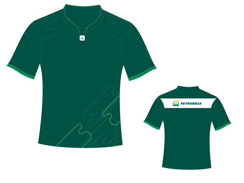uniformes f1 petrobras internacional portfolio rafael