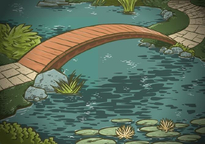 Zen Garden Backgrounds Rick Pinchera Graphic Art
