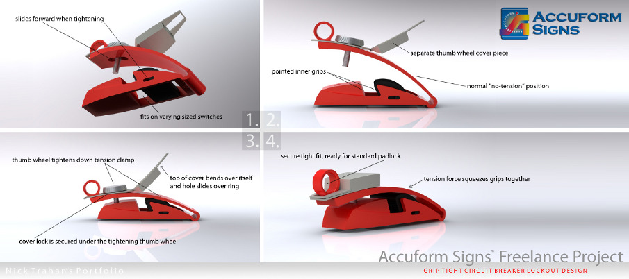 Lock Out Device Nick Trahan Design
