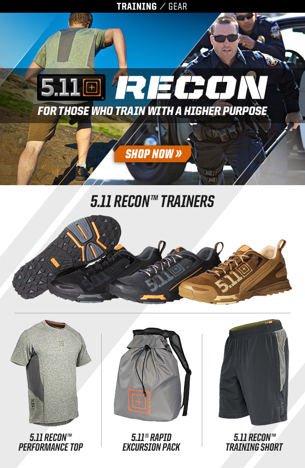 01d21f5f4a 5.11 Tactical Recon® Training Gear Launch Emails - Visual Foundry