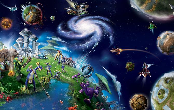EA: Spore - grmorales: cargocollective.com/grmorales/EA-Spore