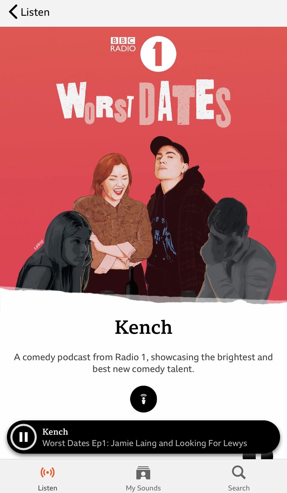 BBC Worst Dates - Kingsley Nebechi Creative Director / Illustrator