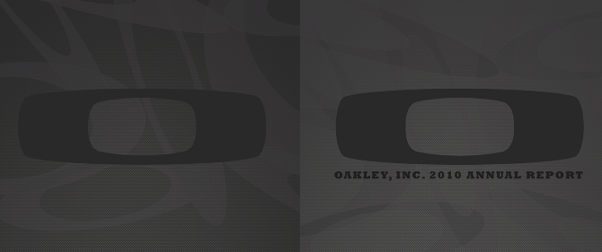 Oakley Annual Report