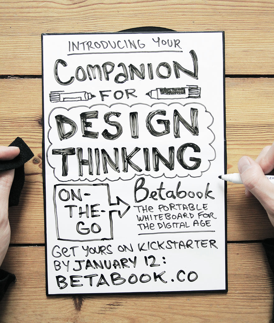 betabook the portable whiteboard patrizia kommerell design