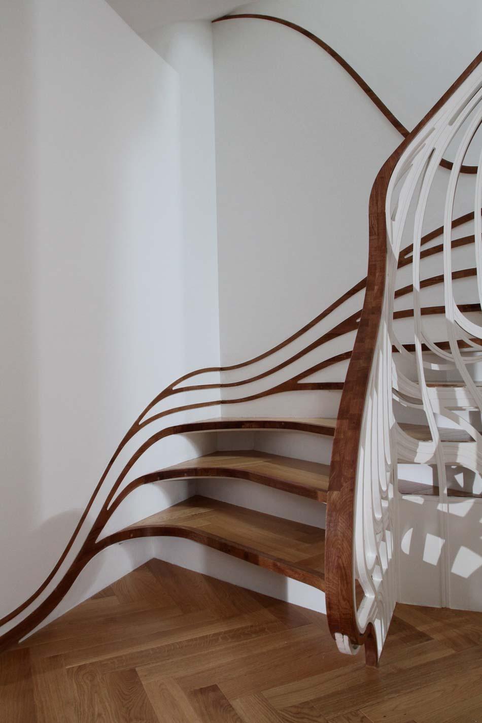 Dise o de escaleras 10 tecno haus - Escaleras de diseno ...