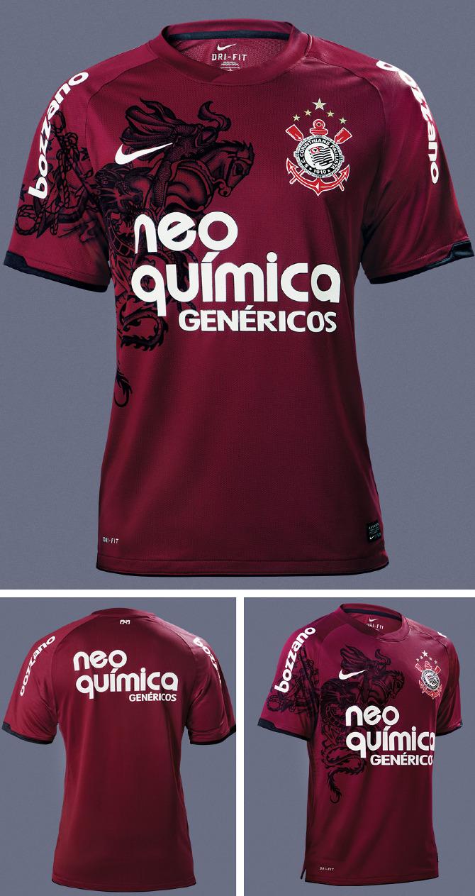 Nike - Camisa 3 do Corinthians - Jeferson Silva dfdc98a32d984