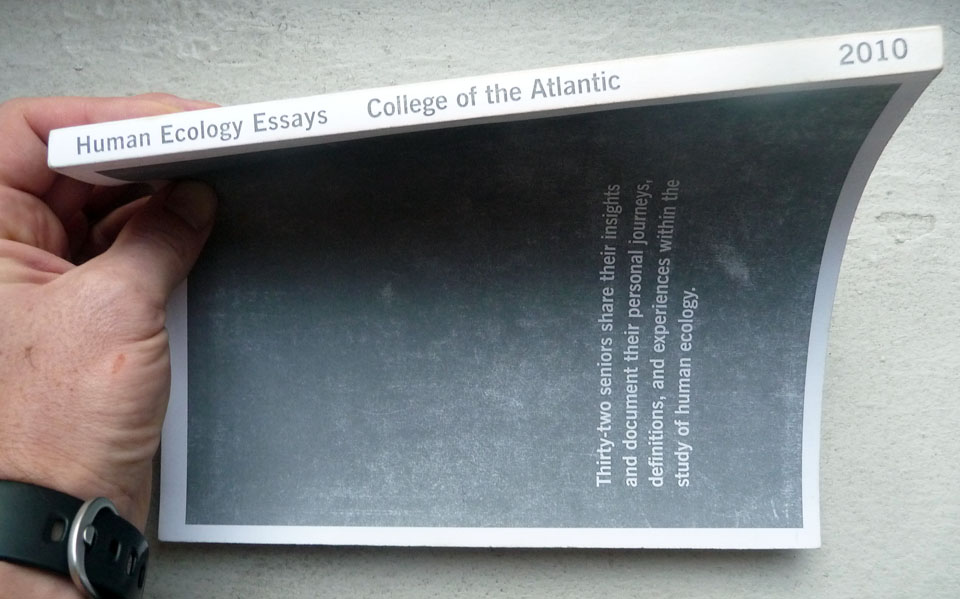 COA Human Ecology Essays - Ross Pike, Independent UX