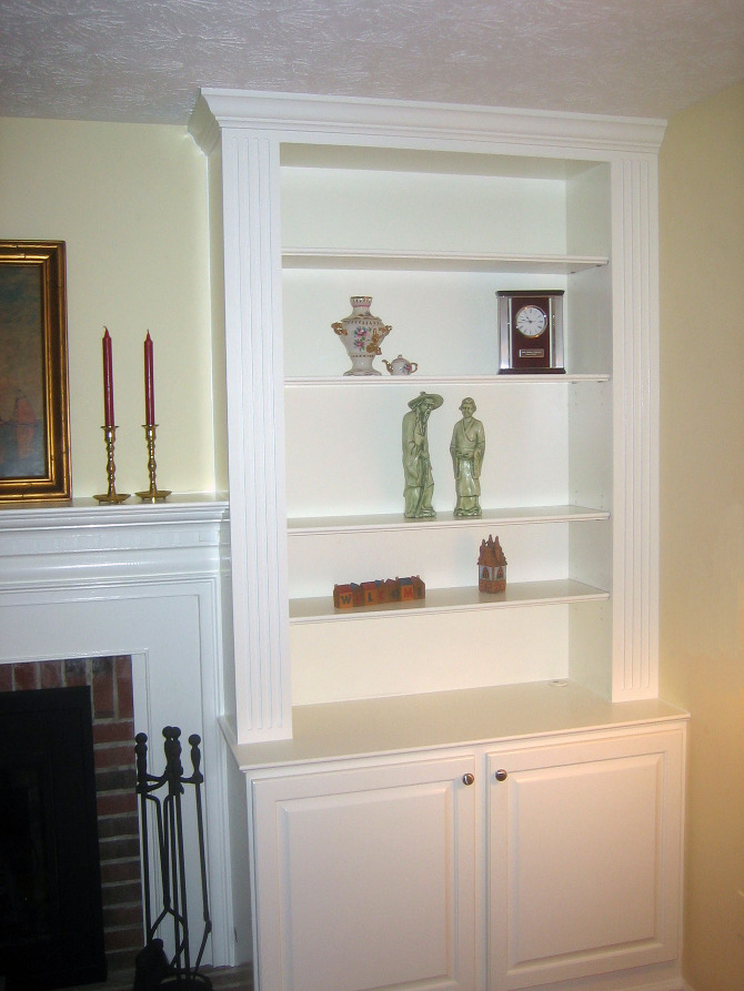 Custom Built-ins & Shelves - bluelabelcustoms