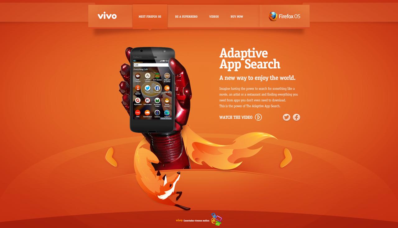 Telefonica Vivo: Firefox OS Launch Campaign - Ivan Blotta