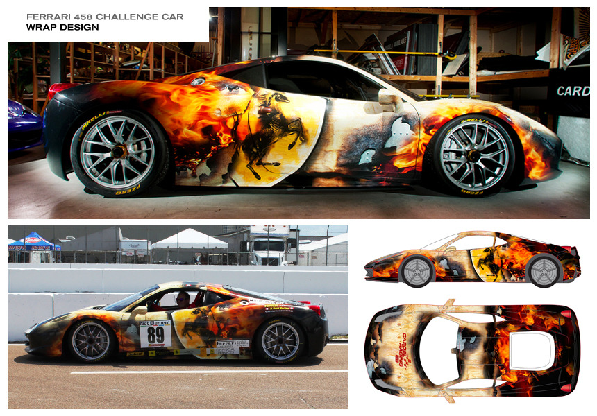 The Gallery For Race Car Wrap Designs