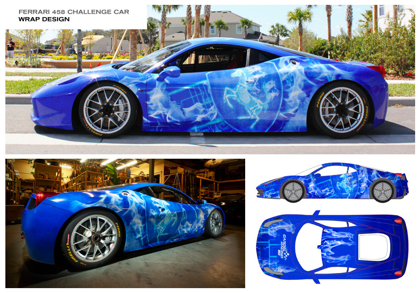 gallery for race car wrap designs