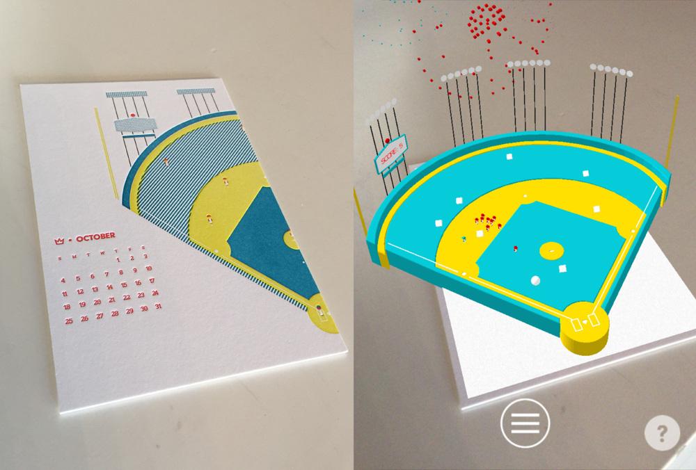 AR Calendar October - Mike Humphrey - Design/Animation