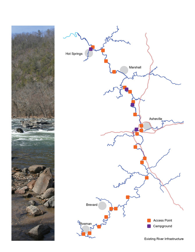 French Broad River Paddle Trail - ogletree design portfolio