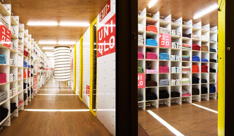 Uniqlo Pop Ups Lot Ek Architecture Amp Design