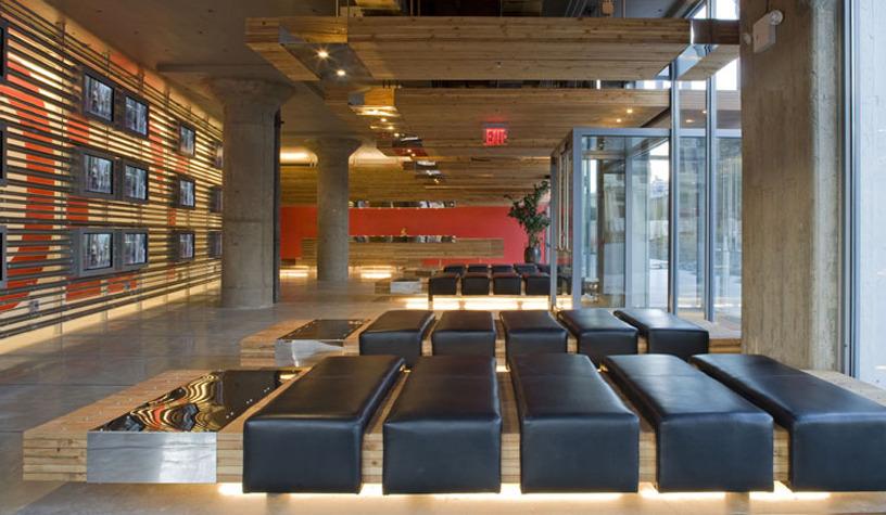 Canco Loft Lobby Lot Ek Architecture Amp Design