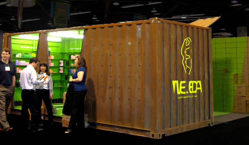 Weleda Booth Lot Ek Architecture Amp Design