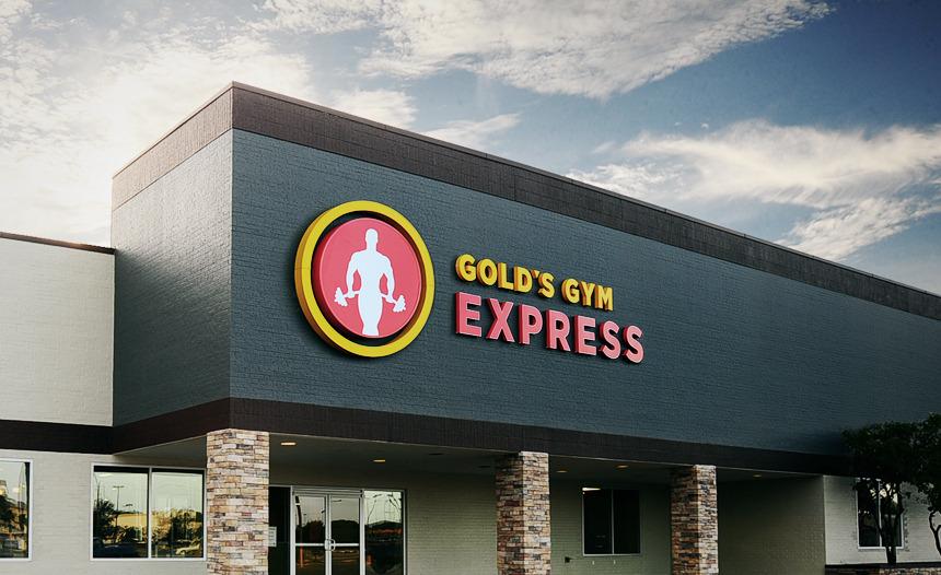 B And B Auto >> GOLD'S GYM EXPRESS - Scott Pridgen Design Co.
