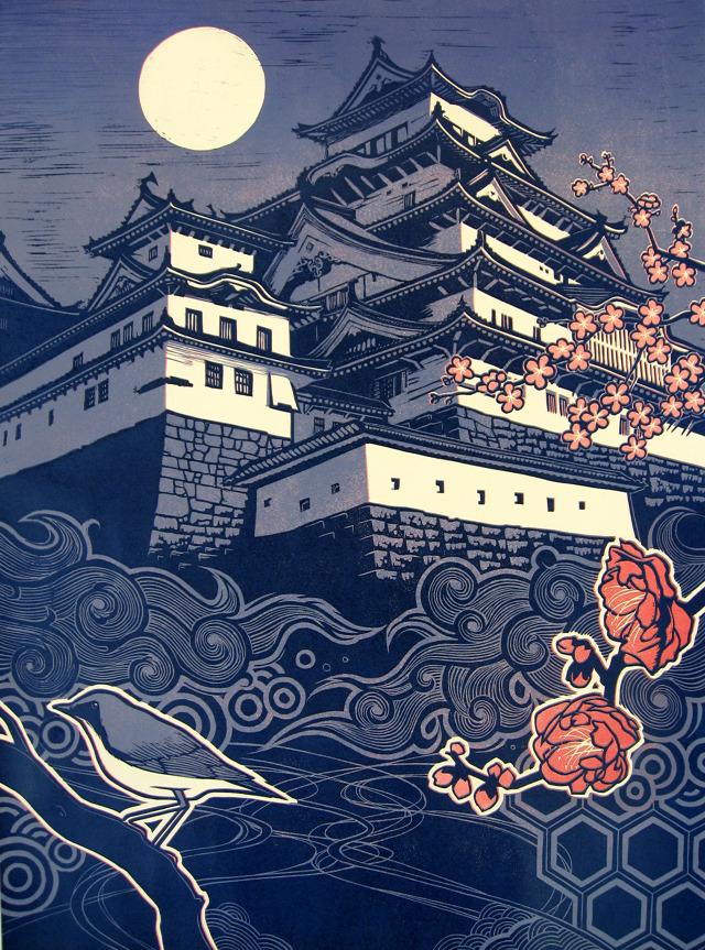 Himeji-jo - Taro.Takizawa Prints