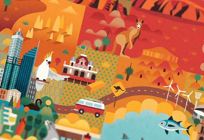 Αποτέλεσμα εικόνας για illustration australia