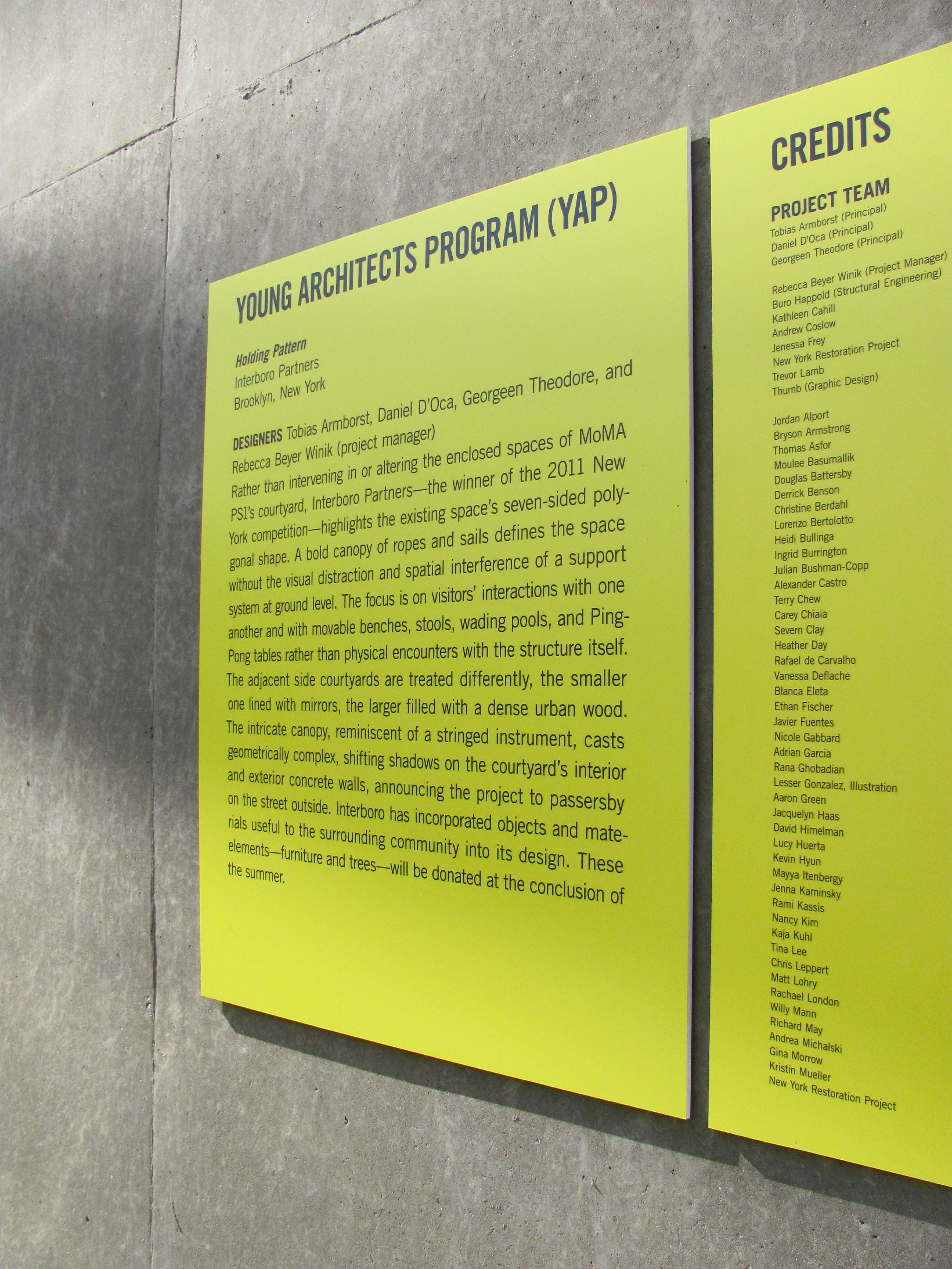 Various MoMA Projects - ChelseaAmato