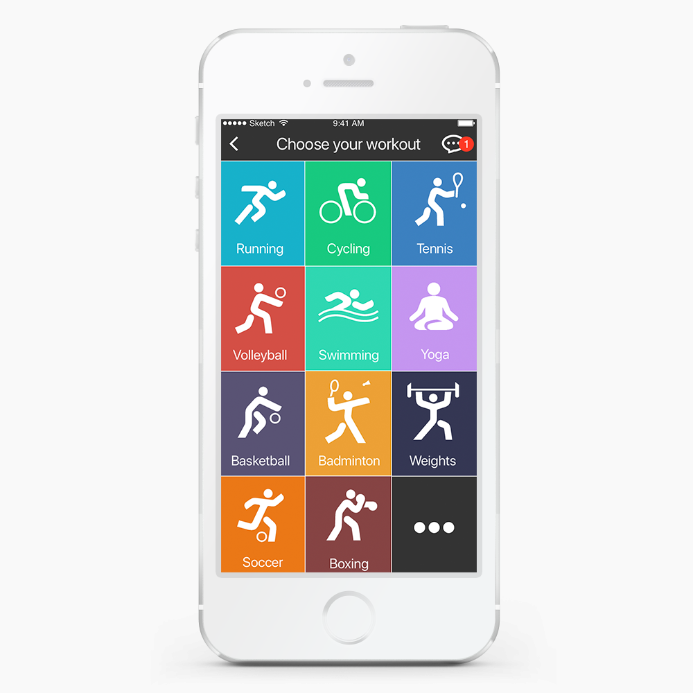 FitBuddy App - bella goldberg : : ux & ui