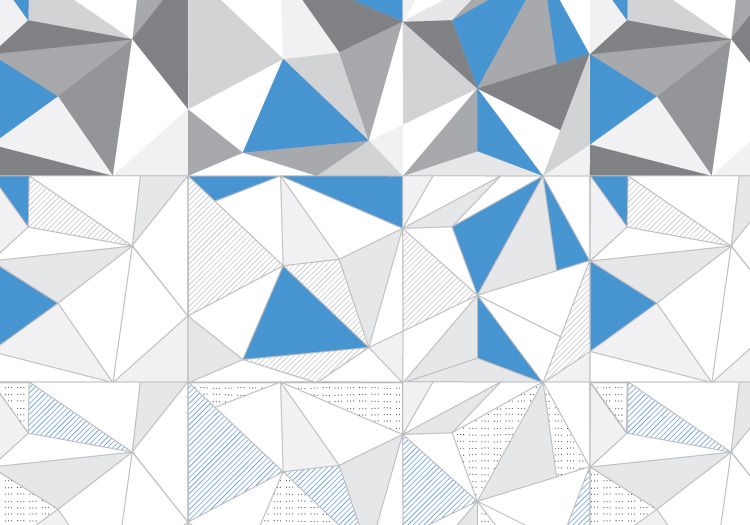 how to solve triangle pattern