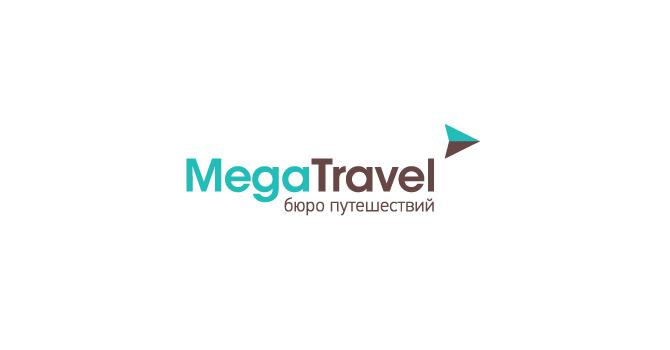 Travel Agency Logos  - Megatravel Logo