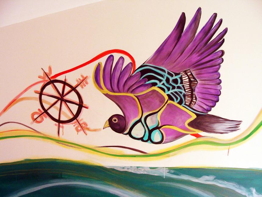 Mural: Amor - Stacy Naden