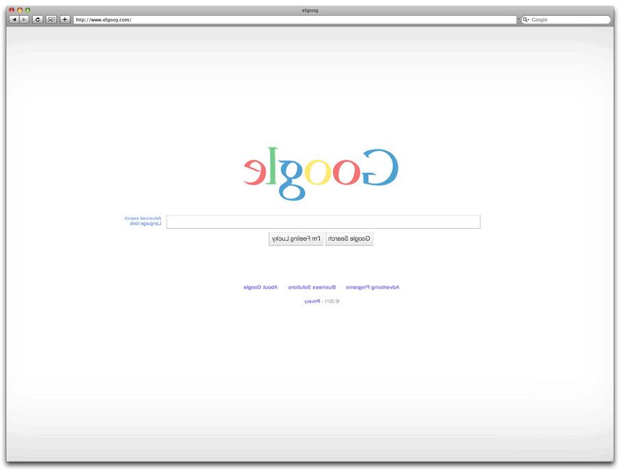 Back of Google