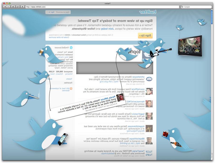 Back of Twitter