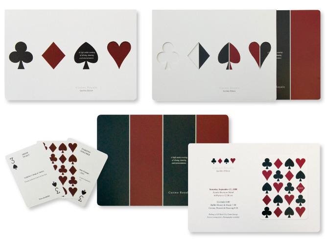 Invitation Packs Saher Zafar – Casino Royale Party Invitations