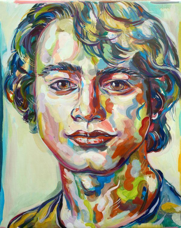 Painting Portraits - Marisa Polin
