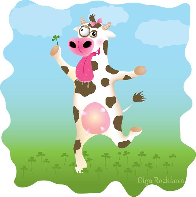 поздравления от коровы на юбилей совенят люблять малюки