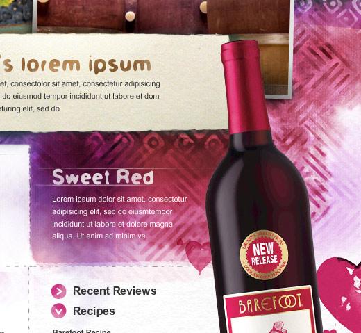Barefoot Wine and Bubbly Website Comps - Sansangasakun