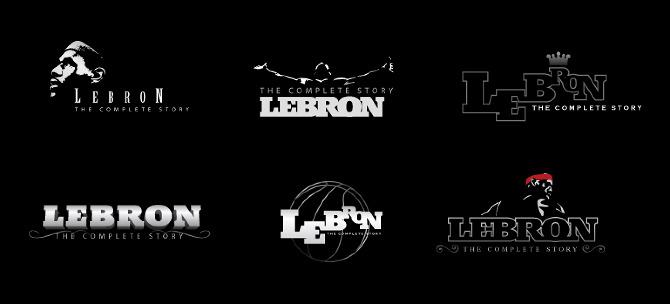LeBron James - The Complete Story Logo - Sansangasakun